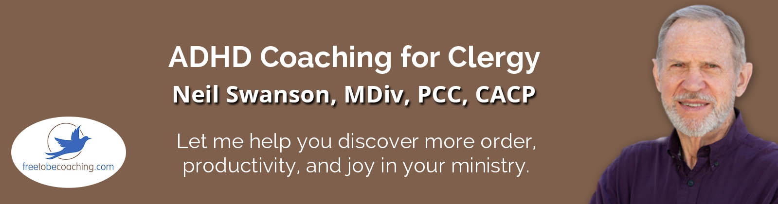 Neil Swanson Coaching for Clergy header graphic